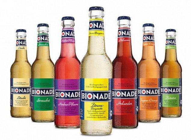 0 33l Bionade aus Glasflasche