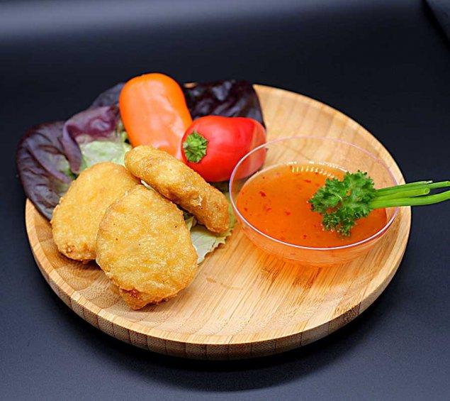 Chicken Nuggets mit Dip