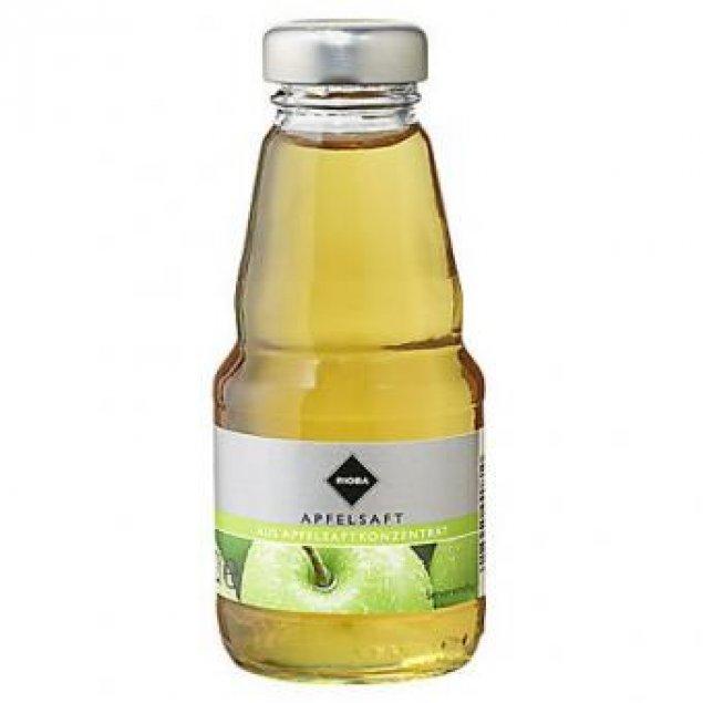 Apfel-Saft  RIOBA 0,2 l Glasflasche
